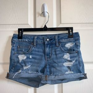 very comfortable American Eagle jean shorts